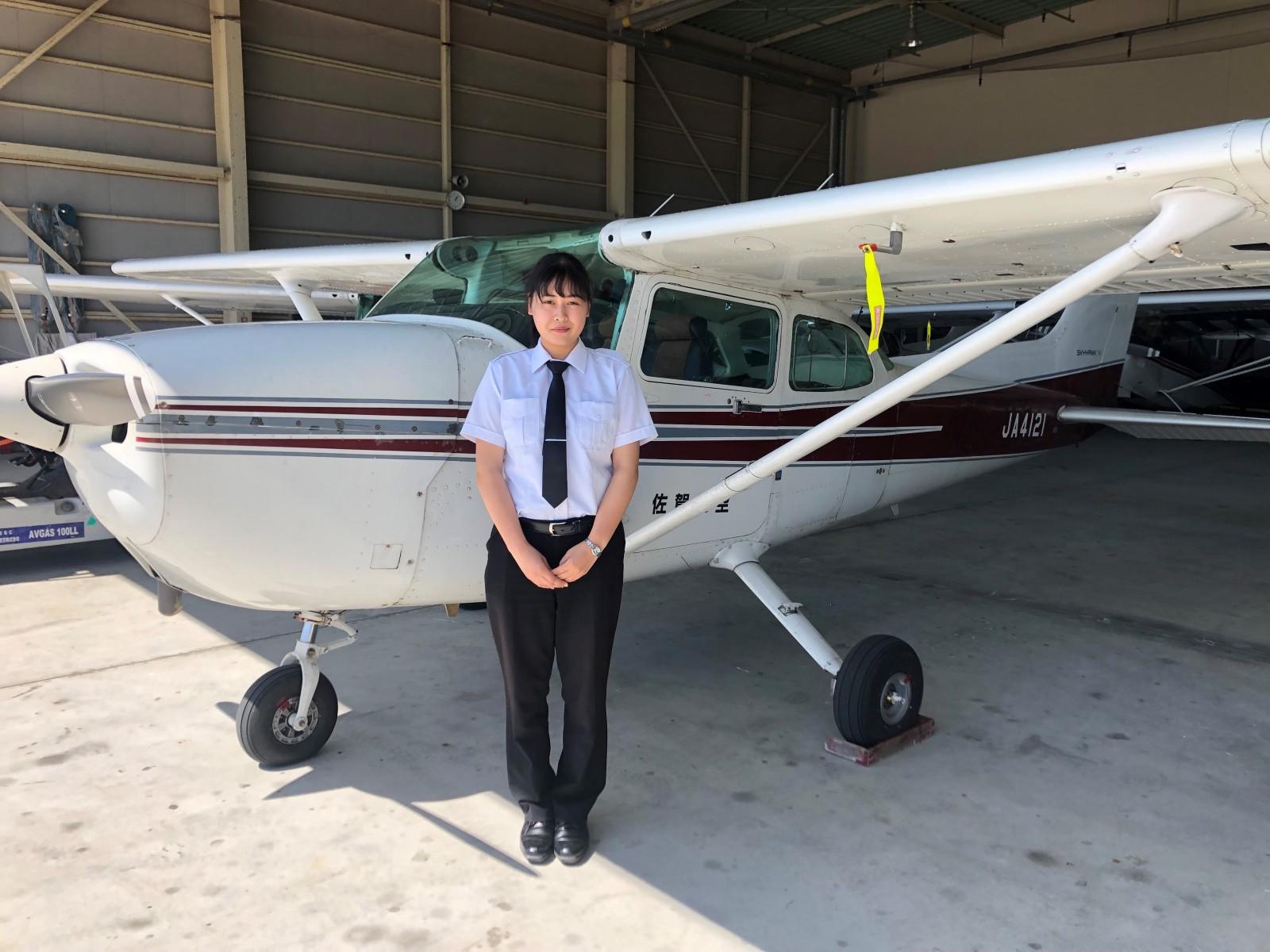 -女子学生初のパイロット2-