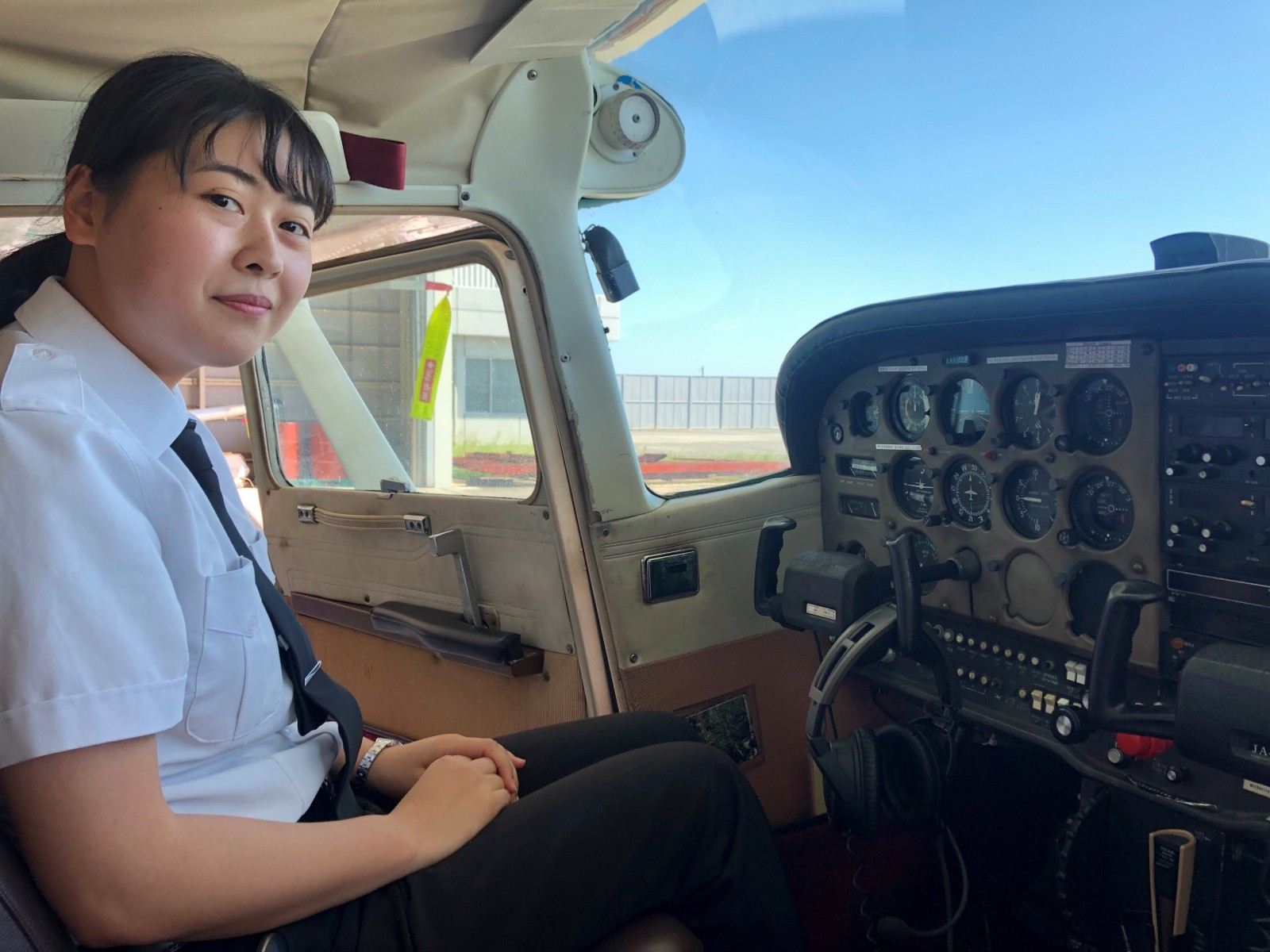 -初の女子学生パイロット4-