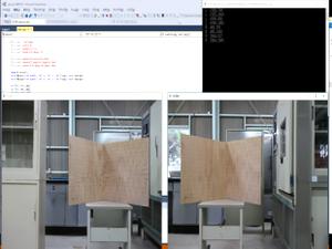 開発中の三次元計測ソフト