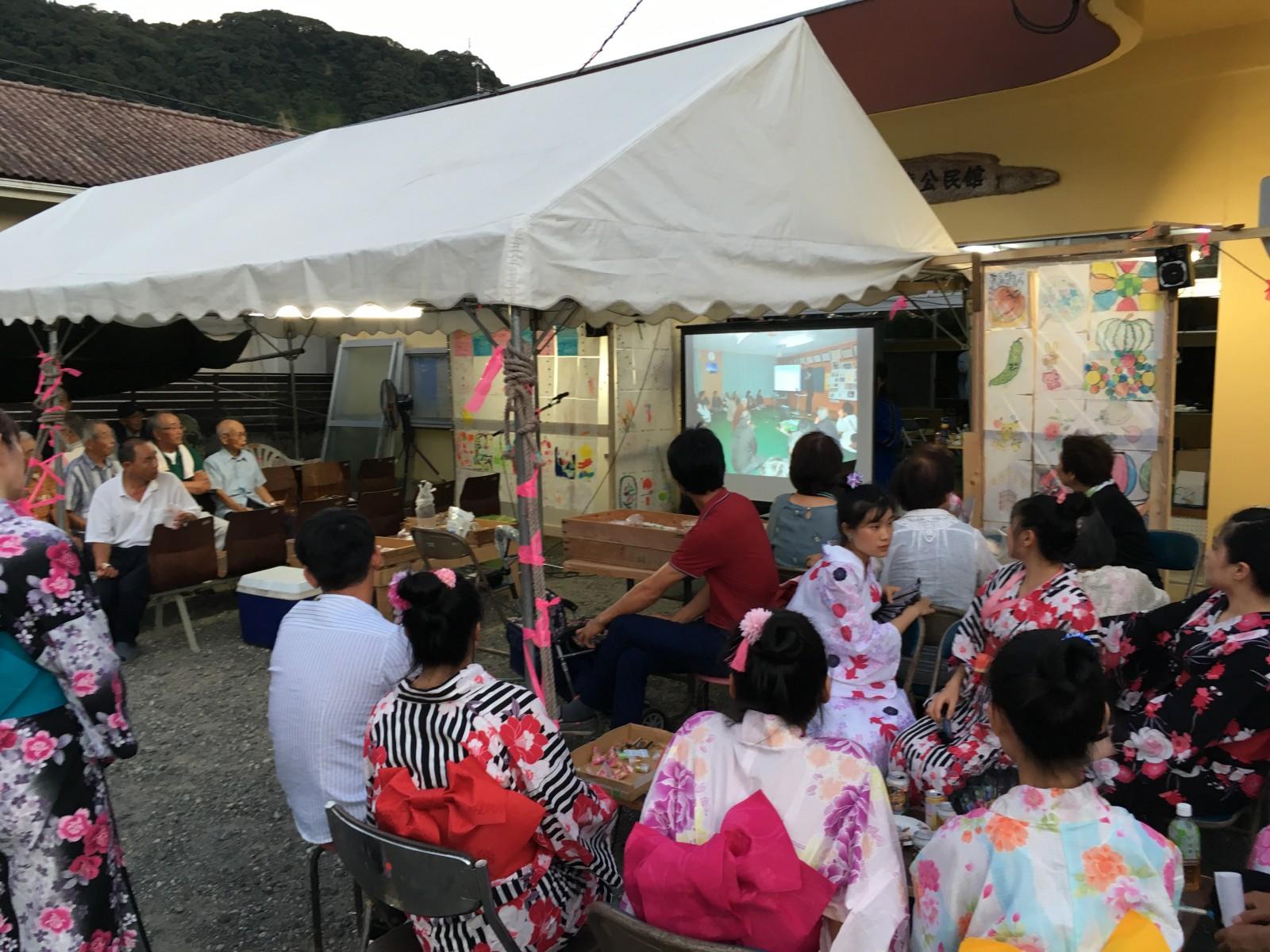 地元企業に勤めるベトナム人の皆さんも参加して国際的なイベント