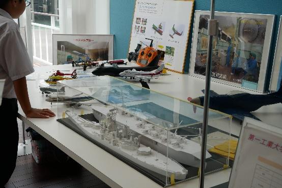 航空工学科 展示ブース