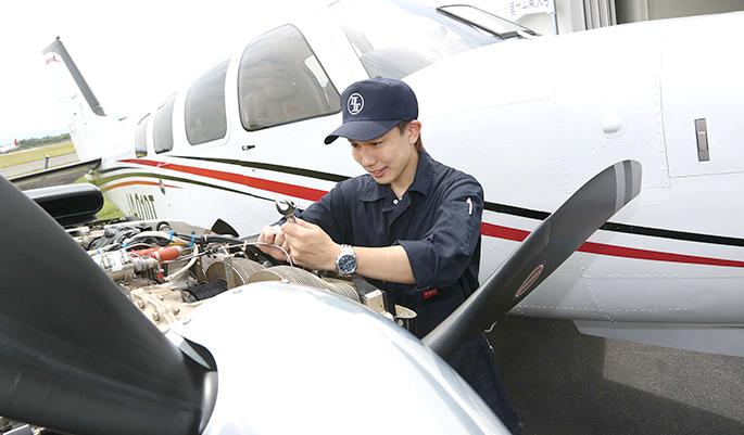 航空工学科 パイロット資格コース