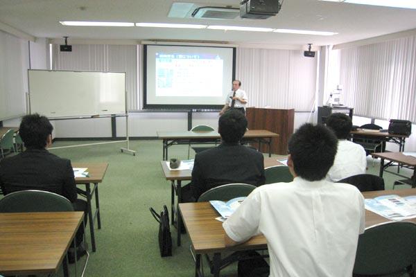 学内における企業説明会