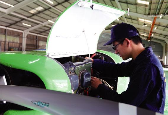 航空整備工学専攻