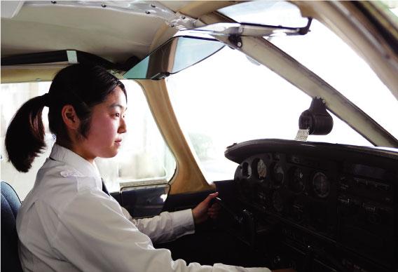 航空操縦学専攻